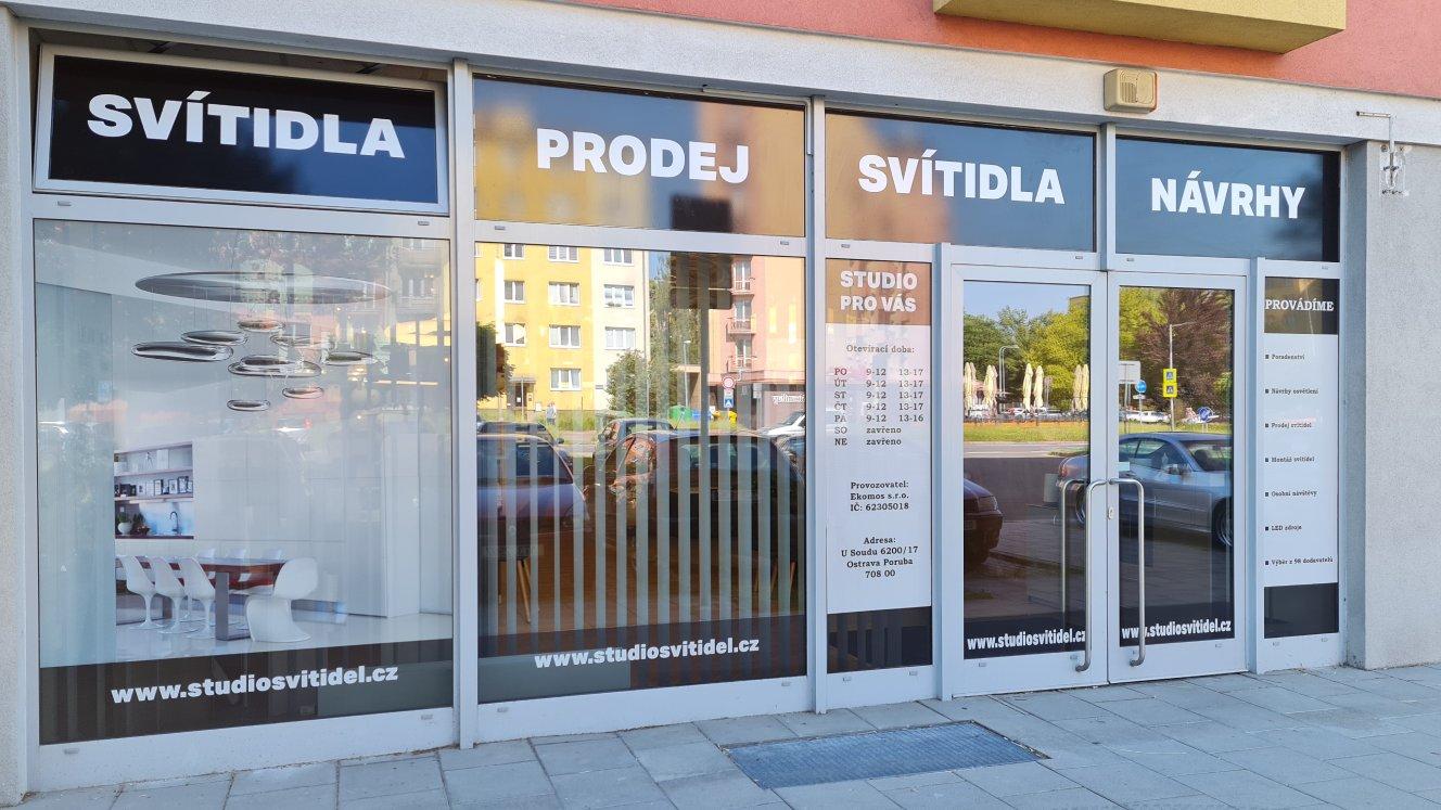 Light Studio Ostrava - návrh osvětlení na míru